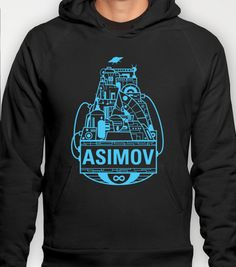 Forever Asimov  Hoody by Oliver Trigger - $38.00