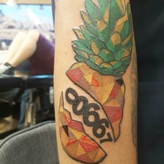 Bloody pineapple honoring Puerto Rico most famous fruit