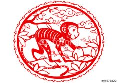 Image result for year of the monkey images