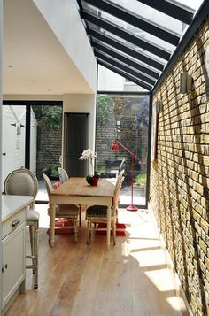 Image result for victorian houses with kitchen extensions