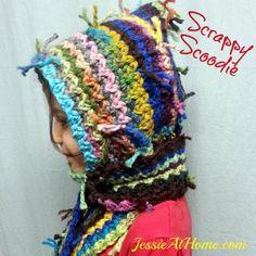 Scrappy Scoodie - The Yarn Box The Yarn Box