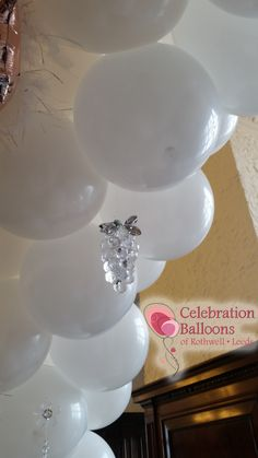 Wedding balloons from www.balloonsleeds.com Balloon Pictures, Celebration Balloons, Wedding Balloons, Wakefield, The Balloon, Leeds, Romantic, Ceiling Lights, Decor