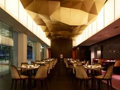 Built by Antonio Eraso in Singapore, Singapore with date 2008. Images by Derek Swalwell. Jing is a contemporary Chinese restaurant located in One Fullerton building at the gate of downtown Singapore, surrou...
