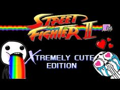 Street Fighter: Xtremely Cute Edition [Video]
