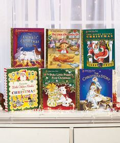 Entertain and teach children with a big Little Golden Books Box Set. Curl up with your little one and enjoy these beloved stories. The set has 5 titles filled with delightful artwork. They're wonderful for reading to a child, or for beginning readers