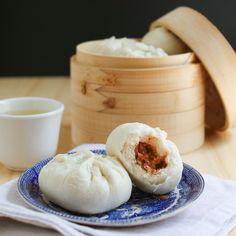 Thirsty For Tea Dim Sum Recipe #8: Steamed BBQ Pork Buns (Char Siu Bao)