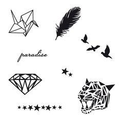Rad | Pack Dreams, Tatouage