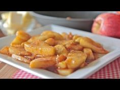Best Southern Fried Apples Recipe ~ Tried And True Country Fried Apples Southern Fried Apples Recipe, Best Pans, Divas Can Cook, Apple Recipes, Fruit Recipes, Easy Recipes, Recipies, Delicious Recipes, Keto