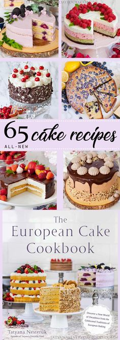 I still can't believe I did it! I wrote my very first cookbook!! Saying and writing that still sounds surreal to me! My passion for baking and cakes has taken me further than I ever could have imagined and this cake cookbook, The European Cake Cookbook, is the culmination of all my work and aspirations! …
