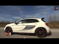 2014 #MERCEDES GLA 45 AMG EDITION 1 - TEST AND SOUND!