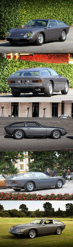 1966 Lamborghini 400 GT Flying Star II concept car by Carrozzeria Touring