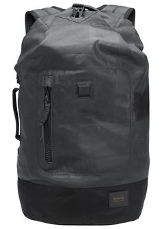 Origami Backpack - Black | Nixon Mens Bags Wallets - Ebags BackPack Tumblr | leather backpack tumblr | cute backpacks tumblr http://ebagsbackpack.tumblr.com/