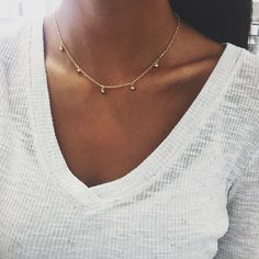 Droplet Chain Choker – Stargaze Jewelry