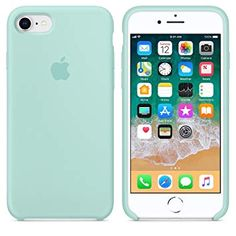 Apple apple silicone case for iphone - marine green - cayman mac store t/a alphasoft Iphone 8, Funda Iphone 6s, Capas Iphone 6, Iphone Cases Disney, Iphone Cases Cute, Pink Phone Cases, Coque Iphone, Apple Iphone 6, Apple Ipad