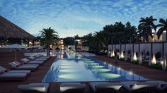 Club Med Punt Cana's private & adult-exclusive pool at the Zen Oasis