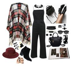 """""""Untitled #1591"""" by style-and-chic-boutique ❤ liked on Polyvore featuring Black, Taschen, Reformation, ZIG-ZAG, Saks Fifth Avenue, EyeBuyDirect.com, Kenneth Jay Lane, Thomas Sabo, Hudson Collection and Spring Street"""
