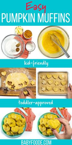 A quick and fun recipe for Easy Pumpkin Biscuits! These biscuits are great for breakfast, snacking or served as a side for dinner. Made with simple ingredients, they are ready to serve in 30 minutes and are a great way to get your kids to help in the kitchen! #easybiscuitrecipe #toddlerrecipes