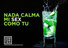 Es la hora de calmar mi SEX,  mientras tanto...un mojito por favor !!! #bebida #verano #mojito #lifestyle #playa #calor #condones #condoms #confortex #summer #SummerSex  #QuieroQueMePongas