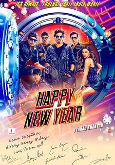 Happy New Year Movie 2014 Review, Poster, Songs, Release Date, Trailer, Wiki