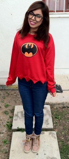 i am batman - Womens Fashion Clothing at Sheinside.com