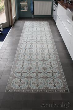 cement tile runner