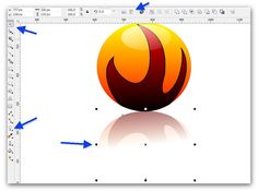 How to create a fireball in Corel draw