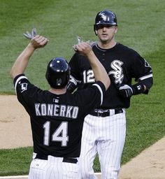 White Sox: Pauly and AJ- def gonna miss havin AJ in the line up