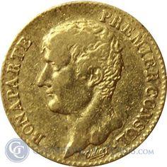 AN12 A French 20 Franc Gold - thumbnail