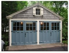 exterior color schemes | Image | home - exterior color schemes. Also love those doors!
