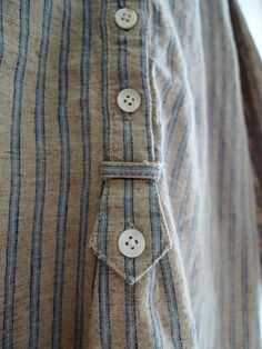 buttons and stripes