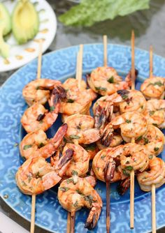 Recipe for Chili Lime Marinated Shrimp - Even if rain ruins your Memorial Day picnic, you can go ahead and bring the sunshine inside because this recipe is just as good made in a saute pan as it is on the grill.