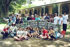 """How To Transform Plastic """"Waste"""" into a Bottle Brick - Shareable Brick Projects, Plastic Waste, Plastic Material, Recycle Plastic Bottles, Bricks, Dolores Park, Service Learning, Zero Waste, Schools"""