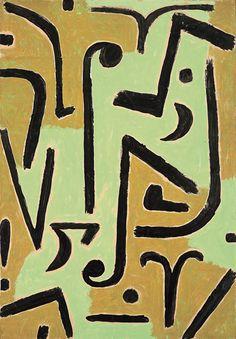 1940 Paul Klee 'Halme'.