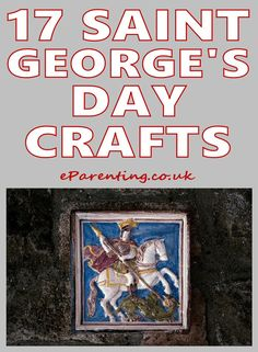Saint George's Day Craft Activities For Kids including dragons, England themed crafts and St. Craft Activities For Kids, Preschool Crafts, English Names Girls, Make Your Own Playdough, Patron Saint Of England, St Georges Day, Dragon Crafts, Egg Crafts, Wonder Women