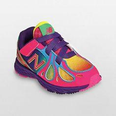 New Balance 890 Athletic Shoes - Toddler Girls