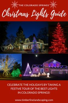 The holiday season is here again, and there is no better way to celebrate than to take a Christmas lights tour around Colorado Springs! We've updated our guide of must-see areas, businesses and homes that have fantastic Christmas lights. We've also highlighted some hot cocoa & coffee stops along the way so you can stay cozy while you browse, and have included a scavenger hunt and coloring contest to complete with your family.