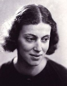 Dorothy Mary Crowfoot Hodgkin (1910-1994), chemist and one of the great crystallographers. She resolved the structure of Vitamin B-12, and, with J. D. Bernal, resolved the first crystal structure of a protein, pepsin.