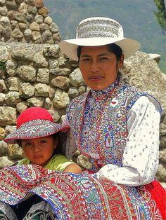 Colca Ladies - Colca Canyon, Peru by whl.travel, via Flickr