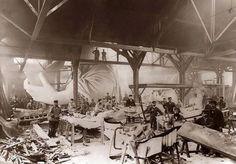 Costruzione della statua della libertà nel 1884