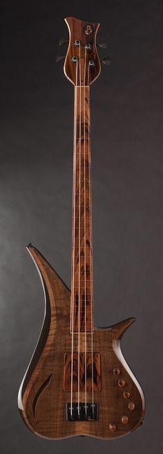 BL DESIGN #025 Marozi 4 String Fretless Bass