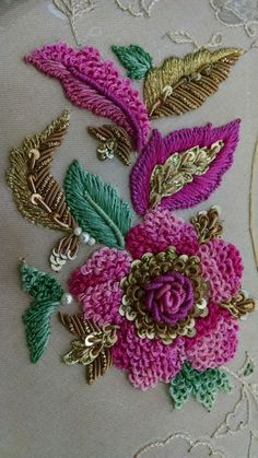 Handmade embroidery designs for sarees beautiful zardozi work order contact aqaiser111 gmail - www.Mrsbroos.com