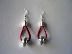 WASHER AND BALLS 2 - earrings