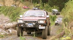 On the April approximately 55 entries from the waiting list, and 15 more from a last minute promotion in two local publications, saw a total of 70 vehicles line up for the Hunua Sightseeing Safari. Waiting List, Offroad, Touring, 4x4, Safari, Promotion, Vehicles, Off Road, Rolling Stock