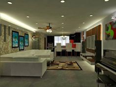 19 Awesome interior design double storey house malaysia