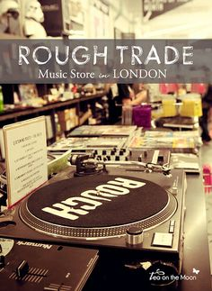 London-music-store-rough-trade05 by Tea on the moon ♥ begoña ♥, via Flickr