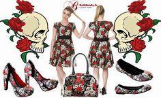 Collection Gothique Galm Rock Skull & Roses  http://www.belldandy.fr/catalogsearch/result/index/?marque=646&q=Skull https://www.facebook.com/belldandy.fr/photos/a.338099729399.185032.327001919399/10154474725659400/?type=3