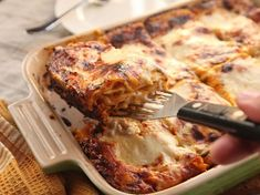 """The Best Squash Lasagna """"A squash lasagna with intense, rich, sweet squash flavor balanced with chunks of sage-scented browned squash and apple, all layered with a creamy Gruyère white sauce and layers of tender pasta"""""""
