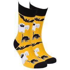 Halloween Socks, Spirit Halloween, Happy Halloween, Halloween 2020, Ugly Socks, Kids Socks, All Family, Dress Socks, Mens Fitness