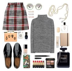 """""""#1030"""" by justadream133 ❤ liked on Polyvore featuring Carven, Vince, FitFlop, Chanel, Gucci, Marc Jacobs, L'Oréal Paris, Miu Miu, Shinola and Laura Mercier"""