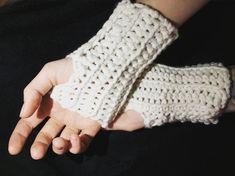 Anleitung Einfache Handstulpen Häkeln Ohne Zunahmen Und Abnahmen